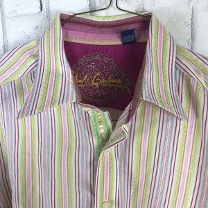 Robert Graham mens Long Sleeve button up medium